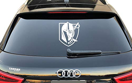 - Vegas Golden Knights Mix with Vegas Raiders Vinyl Sticker Laptop Graphics - Wall Decal Ready to Install (Includes Free Squeegee)