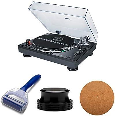 Audio-Technica AT-LP120-USB Tocadiscos Profesional con Alfombrilla ...