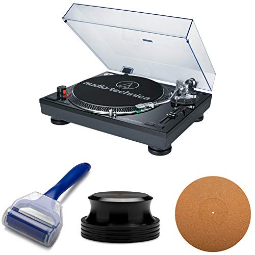 Audio-Technica AT-LP120-USB Professional Turntable with Knox