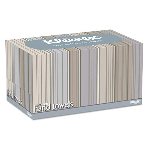 Kleenex 11268CT Ultra Soft Hand Towels, POP-UP Box, White, 70 per Box (Case of 18 Boxes)