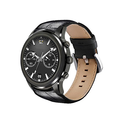 New Business Android 5.1 Smart Watch 3G Fitness Watch with SIM Card Slot,Call/SMS/Twiter/Facebook/Whatsapp/HD Touch Screen for iPhone IOS Android Phones , black by L@YC