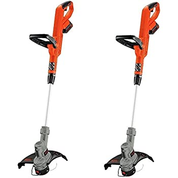 BLACK+DECKER LST300 20V Lithium Trimmer/Edger, 12