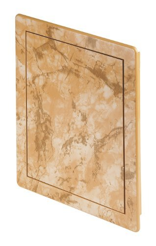 Access panel decorative BROWN MARBLE effect ,service door, control hatch (DT14MB) by Awenta