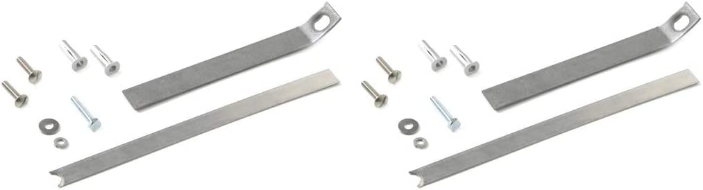 Toilet seat Replacement Anchor kit 84999 fit for Kohler Various one-Piece Toilets Toilet seat Installation Tool to The Bowl with Screw and Anchor nut