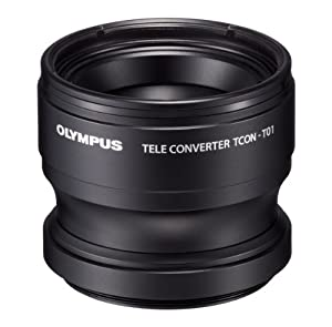 Olympus Telephoto Tough Lens for TG-1 and TG-2 Cameras - International Version (No Warranty)