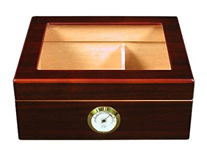 Best cigar Humidor Capri-Glasstop