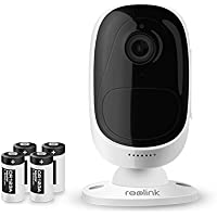 Reolink Argus 100% Wire-Free Battery-Powered Indoor/Outdoor 1080p HD Wireless Home Security IP Camera with Night Vision