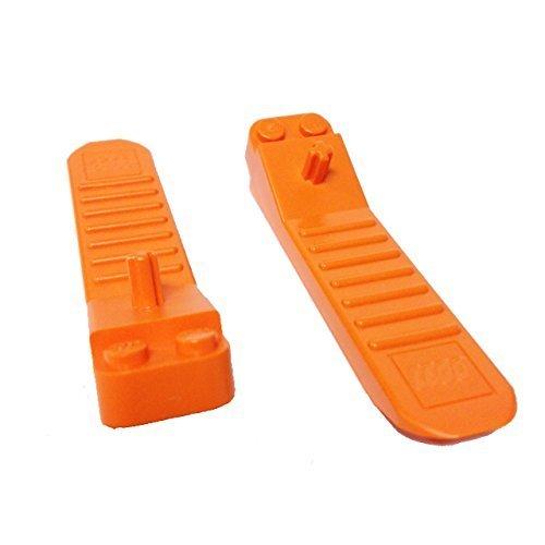 Parts Bricks (Lego Parts: #630 Classic Brick Separator (Pack of 2 - Orange))