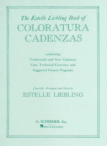 Coloratura Cadenzas: Voice and Piano