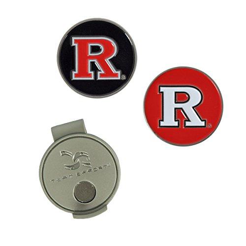 Team Effort Rutgers Scarlet Knights Hat Clip & 2 Ball Markers