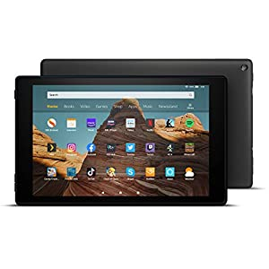 Fire HD 10 Tablet | 10.1″ 1080p Full HD display, 32 GB, Black with Special Offers
