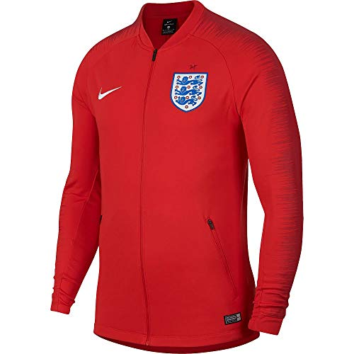 NIKE Mens ENT M NK ANTHM FB JKT 893588-603_M - Challenge RED/Gym RED/White ()