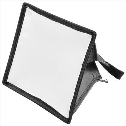 Black Portable Camera Flash Diffuser Soft Box FOr Canon Nikon Pentax Sony Olympus Flash Light 15 x 17cm