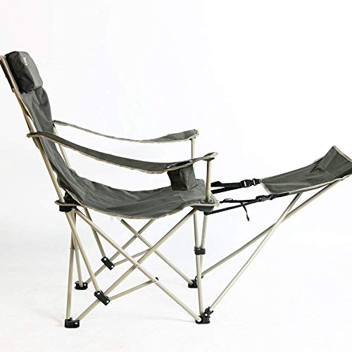 Price comparison product image PLLP Dormitory Bed Chair,  Student Lazy Chair,  College Dormitory Artifact Folding Fishing / Camping Chair with Cup Holder, Green