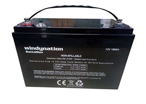 Portable Deep Cycle Battery - 7