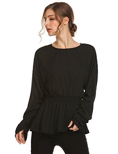 Buy smocked waist top for women