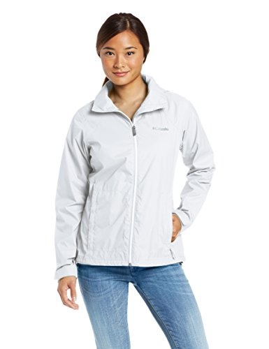 Columbia Women's Switchback II Jacket, White, M (Two Layer Waterproof Jacket)