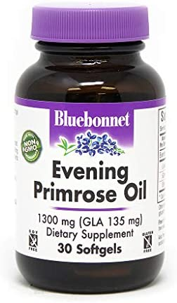 BlueBonnet Evening Primrose Oil Softgels, 1300 mg, 30 Count