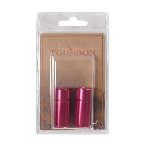 TOURBON Shotgun Dummy Round 12 Gauge Snap Caps 2 Pack - Red