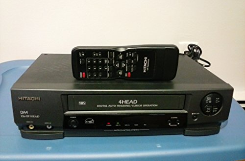 Hitachi VT-MX4410A EP 4 Head Digital Auto Tracking VCR