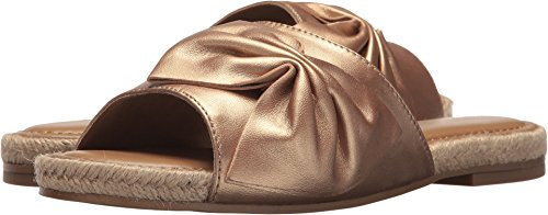 - Aerosoles Women's Buttercup Slide Sandal, Bronze Leather, 7.5 M US
