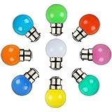 Syska 0.5watt Multi Color Led Bulb (Pack of 12)