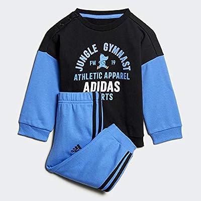 adidas I Graph Jog Ft Chándal, Unisex Bebé, Negro/Azurea, 68 ...