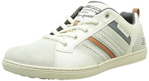 Skechers Herren Sorino Evole Low-Top, Weiß, Various Weiß