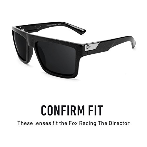 Racing Opciones Mirrorshield múltiples Director — The Elite de Flash Polarizados Fox para Lentes repuesto Bronce 8RwZgq6I