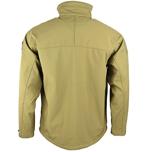Kombat Uomo Uk Coyote Trooper Soft Giacca Shell 4qBx84na
