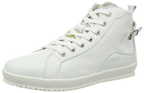 Femme Tamaris Hautes Sneakers 25215 100 white Blanc w11Stxfq