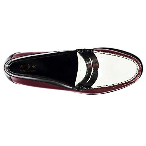 Wht Women's Weejuns multicolour Loafer Bordo Blk Flats Bass 508wq