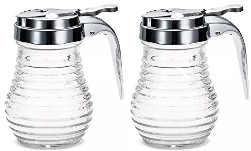 American Metalcraft (BSD64) 6 oz Beehive Syrup Dispenser (Set of 2)