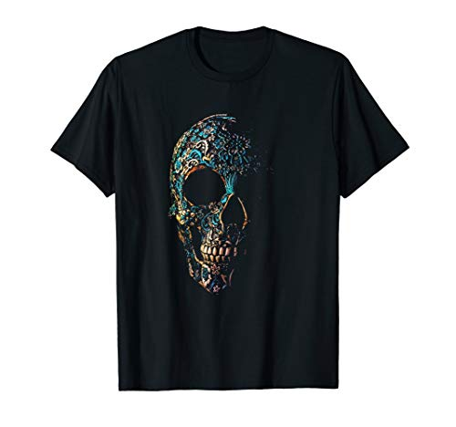 e Skull T-Shirt Day of The Dead Shirts ()