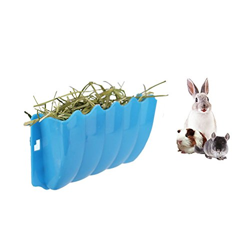 - Guinea Pigs Hanging Hay Feeder Rack, Rabbit Mess-Free Alfalfa Dispenser, Manger Rack Wall-Mounted for Small Animal, rabbit, guinea Pig, galesaur, ferret