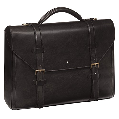 Montblanc 116807 1926 Heritage Briefcase Single Gusset by MONTBLANC