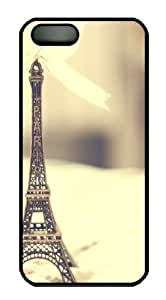 eiffel statue Custom iPhone 5s/5 Case Cover Polycarbonate Black