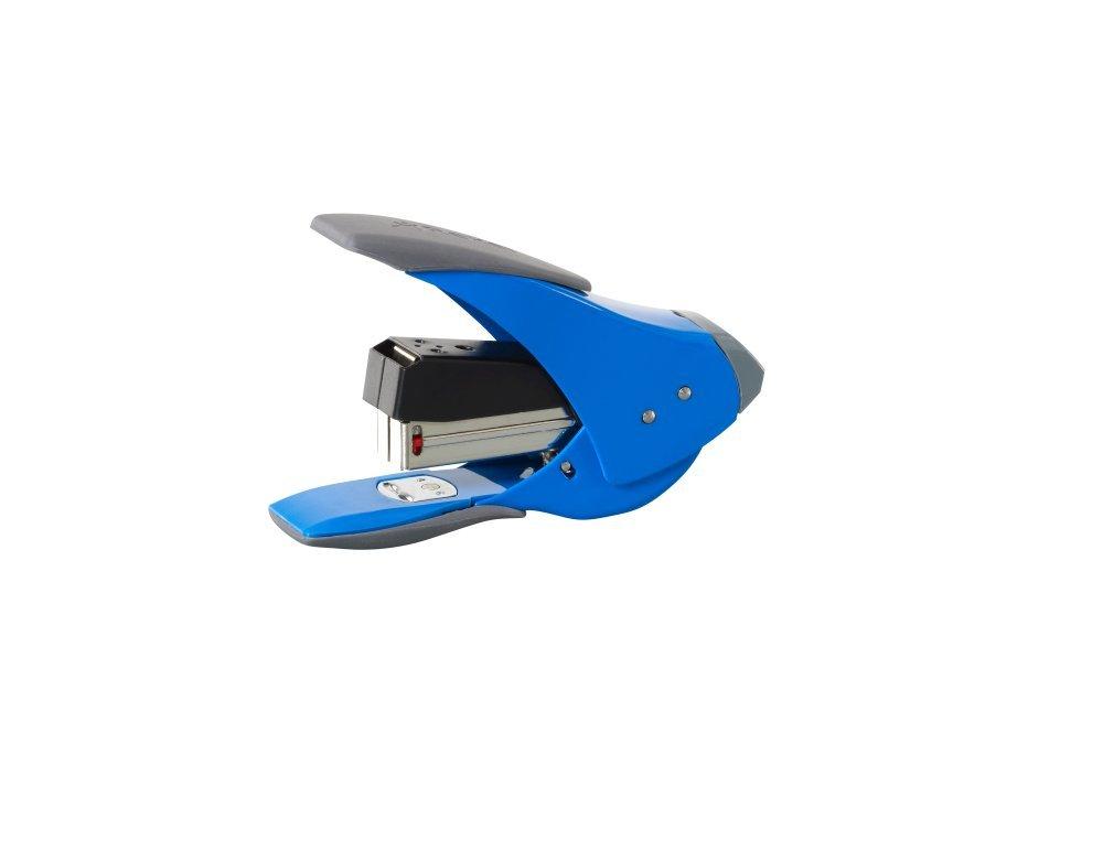 20 Sheet Staple Capacity Rexel Easy Touch 20 Quarter Strip Stapler 18mm Throat Depth Blue