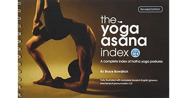 Amazon.com: THE YOGA ASANA INDEX, A Complete Index of Hatha ...