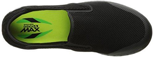Skechers Hommes Sur Le Pouce Glisse-53783 Chaussure De Marche Noir