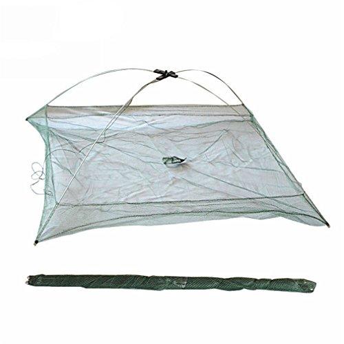 - Samearon Portable Folding Fishing Net Big Landing Network For Catching Fish Shrimps 100cmx100cm