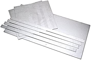 Amazon Com Eastwood 7 Pieces 20 Gauge Auto Body Repair Patch Panels Kit 20 Gauge Aluminized Steel Sheet Metal Corrosion Resistant Automotive