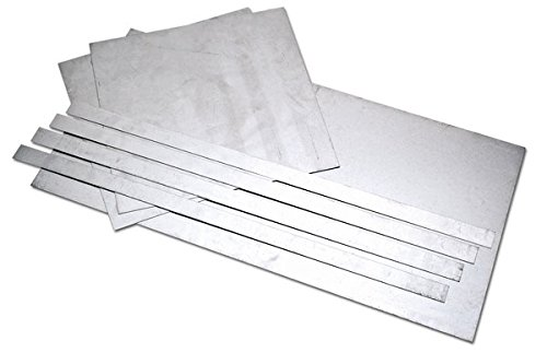 Eastwood 7 Pieces 20-Gauge Auto Body Repair Patch Panels Kit 20 Gauge Aluminized Steel Sheet Metal -