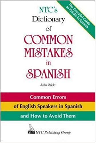 Amazon Com Ntc S Dictionary Of Common Mistakes In Spanish