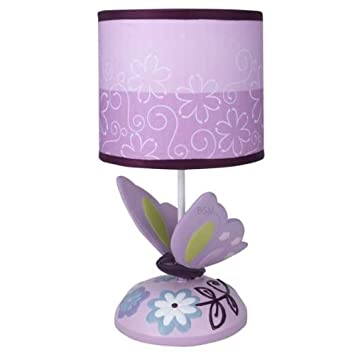 Lambs U0026 Ivy Lamp With Shade And Bulb, Butterfly Lane