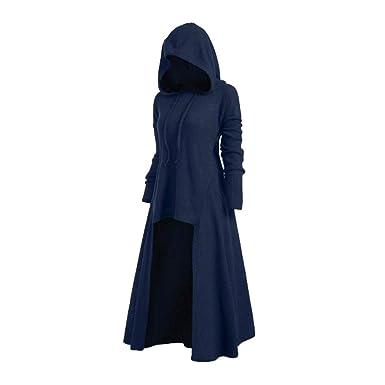 Mujeres Vestido Vintage Traje Medieval Vestidos con Capucha Mujer Víspera de Todos los Santos Fiesta Disfraz Victoriano Renacentista Vestido Tallas ...
