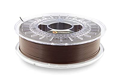 Fillamentum PLA Extrafill Chocolate Brown 2.85mm 3D Printer Filament Spool, Diameter Tolerance +/- 0.05mm, 750g