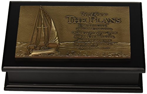 Lighthouse Christian Products Sailboat Sculpture