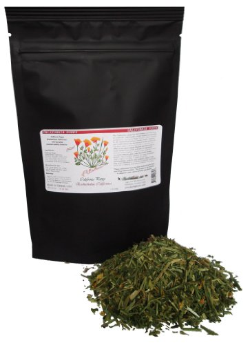 Organic California Poppy (Eschscholzia Californica) Herb (2.2 Lb) by HawaiiPharm