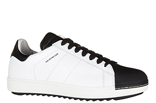en sneakers chaussures joachim homme baskets blanc Moncler cuir qIUOw